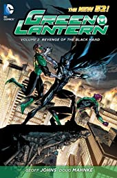 Green Lantern Vol. 2: Revenge of the Black Hand (The New 52) (Green Lantern (Graphic Novels))
