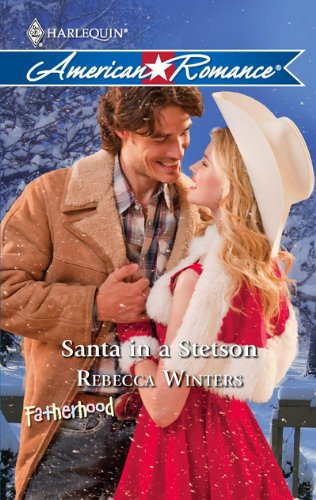 Image of Santa in a Stetson