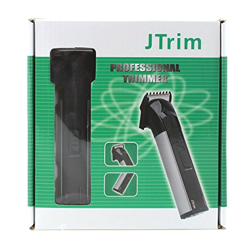 jtrim jpt bt200 rechargeable stand electric cordless beard trimmer black silver health beauty. Black Bedroom Furniture Sets. Home Design Ideas