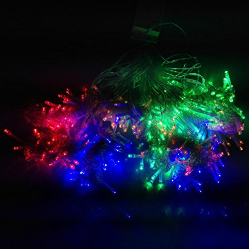 [LED String Lights, 33M 300 LEDs Copper Wire Lights, Flexible Fairy Lights, Warm White, Indoor and Outdoor Starry String Lights for Garden, Patio, Wedding, Tree, Party,] (Diy Family Halloween Costumes 2016)