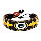 NFL Green Bay Packers Team Color NFL Football Bracelet