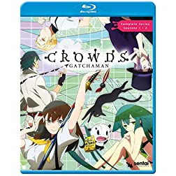 Gatchaman Crowds [Blu-ray]