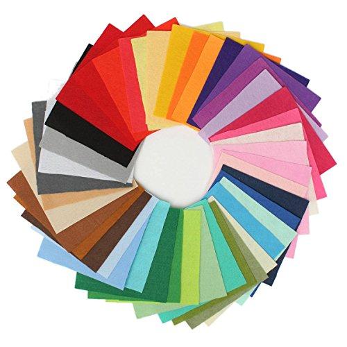 king-do-way-42-colori-feltro-in-fogli-diy-tessuto-poliestere-per-cucire-mestieri-stoffa-patchwork-15