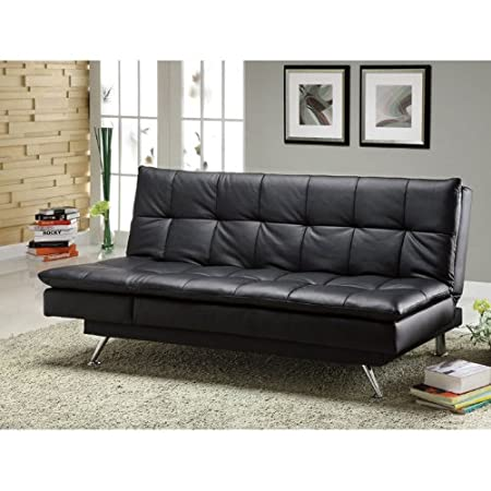 Benson Comfy Leatherette Sofa Bed