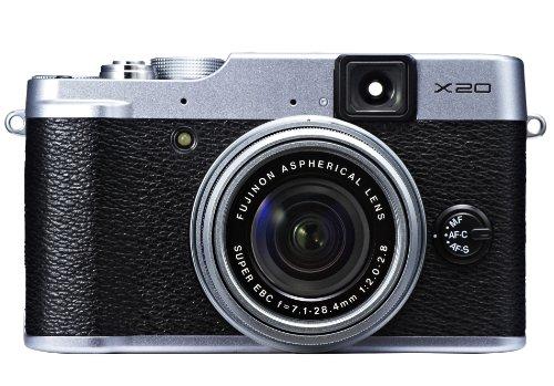 FUJIFILM デジタルカメラ X20S シルバー1200万画素 2/3型EXR-CMOSII F2.0-2.8 広角25mm光学4倍ズーム F FX-X20S
