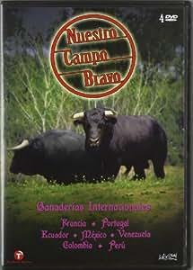 Amazon.com: Nuestro Campo Bravo. Ganaderías Internacionales (4 Dvd