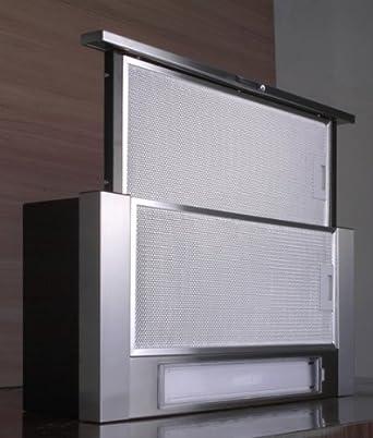 dunstabzugshaube flachschirmhaube 60cm f bayer komplett aus edelstahl 2 motoren starke 500m h. Black Bedroom Furniture Sets. Home Design Ideas