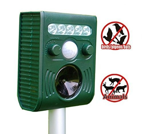 gearmaxr-solar-animal-and-birds-repeller-electronic-pest-control-waterproof-repellent-with-flashing-