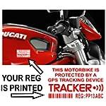 4 x Motorbike Dummy/Fake GPS Personal...