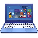 HP Stream 11.6 inch Laptop, Intel N2840 2.16GHz Dual-Core, 2GB DDR3L, 32GB Solid State Drive, Windows 8.1, Blue (Certified Refurbished model # 11-D010WM.