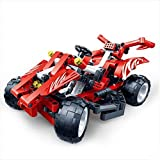 P&R Kids 250 Pcs Creative Racing Car Model Diy Creative Educational Toys Building Block Set Best Gift For Boys...