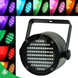 TSSS XL42 Mini Portable 86 LED Stage Lights Support DMX 512 DJ Essential Projector with Handle