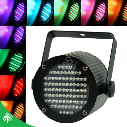 Tsss® 86 Leds Rgb Stage Light Design For Party Show Wedding Dmx Lighting Best Partner For Disco Club Pub Bar Ktv Projector Multi-Effect Satisfy Your Choice(4 Pcs)