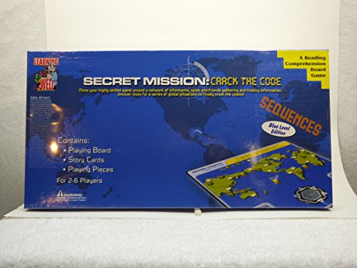 Secret Mission: Crack the Code (Blue Level) - A Reading Comprehension Board Game - 1