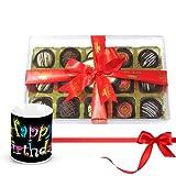 Decadent Desserts Truffles Collection With Birthday Mug - Chocholik Luxury Chocolates