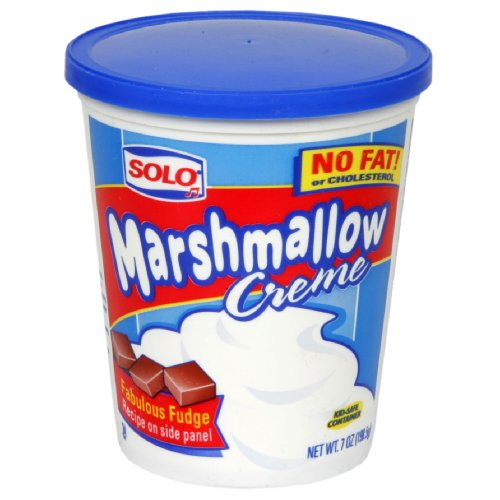 Solo Marshmallow Creme, 7-Ounce (Pack of 12) (Marshmallow Cream compare prices)