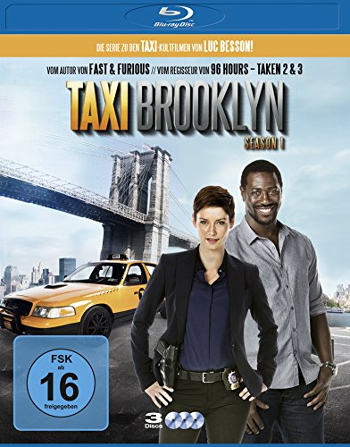 Taxi Brooklyn - Season 1 [Blu-ray]