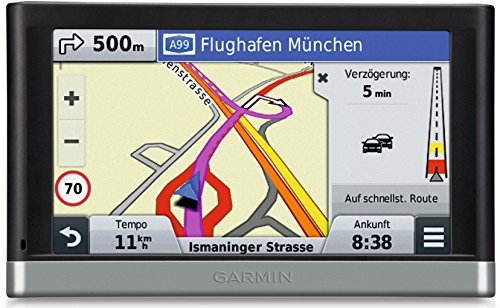 Garmin nuvi 2598LMT-D EU 5″ Sat Nav with UK + Full Europe Maps, Free Lifetime Map Updates and Digital Traffic Alerts