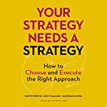 Your Strategy Needs a Strategy: How to Choose and Execute the Right Approach | Martin Reeves,Knut Haanaes
