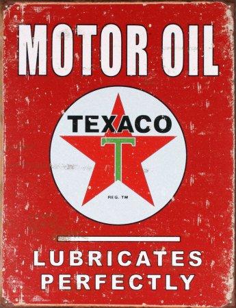 blechschild-texaco-motor-oil-41x32cm