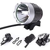 CREE XML XM-L T6 LED 1800 Lumens Cycle Bike Bicycle Rechargable Head Lights Lamp