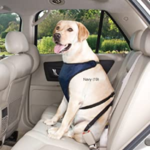 Guardian Gear Polyester Ride Right Dog Car Harness, X-Large, Crimson