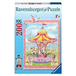 [Best price] Puzzles - Carousel 200 Piece Puzzle - toys-games