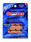 Macks Snoozers Silicone Putty Earplugs, 6-Count (Pack of 2)