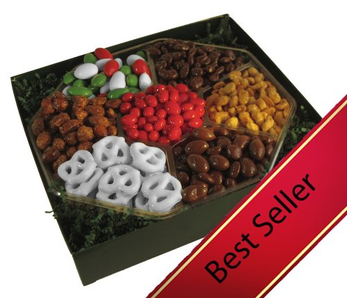 Nutty Guys Holiday Gift Candy and Nut Tray: 2