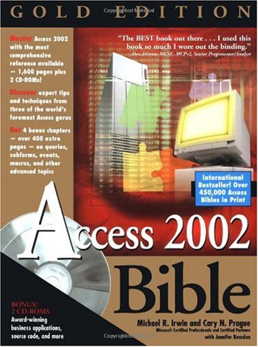 Microsoft Access 2002 Bible Gold Edition