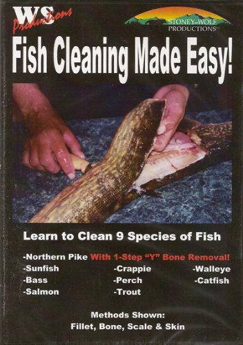 Fish Cleaning Made Easy ~ Learn to Clean 9 Species ~ Fishing DVD