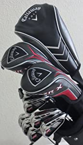 NEW Mens RH Callaway Complete Golf Set Clubs Driver, Fairway Woods, Hybrid, Irons,... by Callway