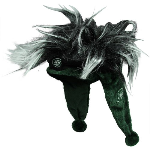 NFL New York Jets Troll Hair Dangle Hat - Green at Amazon.com