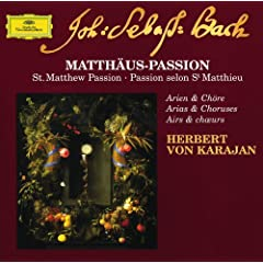 "J.S. Bach: St. Matthew Passion, BWV 244 / Part One - No.10 Aria (Alto): ""Buss und Reu"""