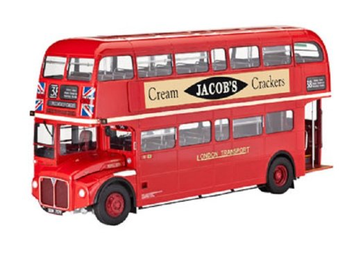 1:24 Scale London Bus Plastic Kit 80-7651 07651 By Revell