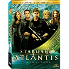 Stargate Atlantis Fourth Season DVD