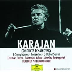 Karajan conducts Tchaikovsky (8 CDs)