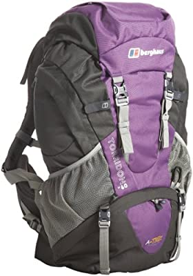 Berghaus Torridon 60 Women's Backpack - Purple/Grey, 60 lt from Berghaus