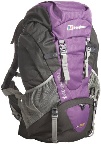 Berghaus Torridon 60 Women's Backpack - Purple/Grey, 60 lt