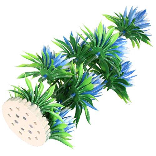 Digiflex d coration ornement lys bleu pour aquarium bocal for Entretien bocal poisson
