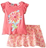 Peanut Buttons Girls 2-6X Skirt Set