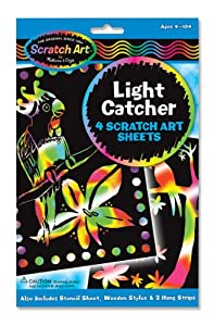 "Scratch Art Magic Scratch-Lite ""Stained Glass"""