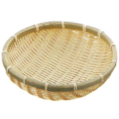 小柳産業 竹製 深ザル φ30cm 38072