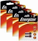Energizer Lot de 4 packs de 2 piles spéciales alcalines Mangan A23 12 V