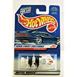 Hot Wheels - 1998 First Editions - Fathom This - Experimental - White - #39 Of 40 - Collector #682 -