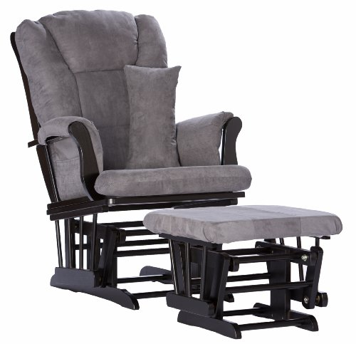 Review Of Stork Craft Custom Tuscany Glider and Ottoman, Black