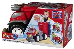 Mega Bloks - 08507U - Set de construcción  - Camión de Bomberos 3-en-1