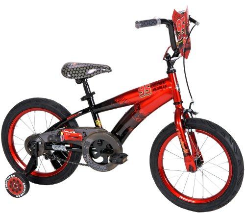 Huffy 16-Inch Boys Cars Bike (Black/Red)