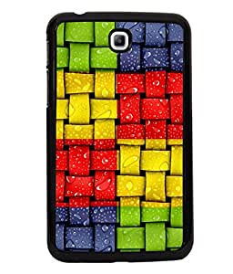 printtech Colored Patterns Back Case Cover for Samsung Galaxy Tab 3 7.0 :: Samsung Galaxy Tab 3 T211 P3200