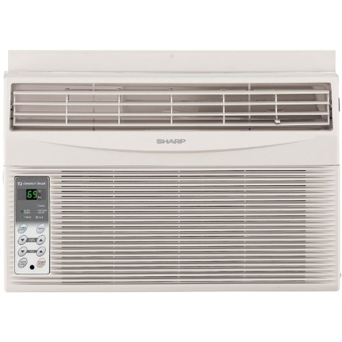 Sharp Electronics AFS60RX 6,000 BTU 115-Volt Window-Mounted Air Conditioner with Rest Easy Remote Control (250 000 Btu Unit Heater compare prices)